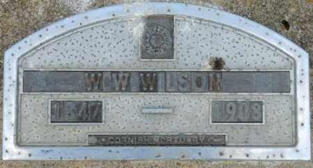 WILSON, W W - Hempstead County, Arkansas | W W WILSON - Arkansas Gravestone Photos