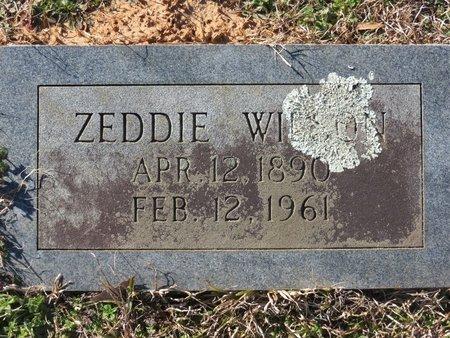 WILSON, ZEDDIE - Hempstead County, Arkansas | ZEDDIE WILSON - Arkansas Gravestone Photos