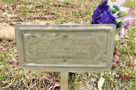 WITHERSPOON, DAVID - Hempstead County, Arkansas | DAVID WITHERSPOON - Arkansas Gravestone Photos
