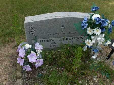 WITHERSPOON, ELDREW - Hempstead County, Arkansas | ELDREW WITHERSPOON - Arkansas Gravestone Photos
