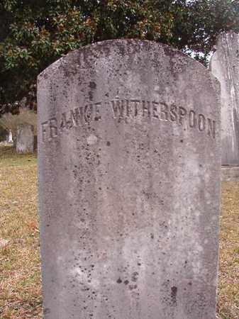 WITHERSPOON, FRANKIE - Hempstead County, Arkansas   FRANKIE WITHERSPOON - Arkansas Gravestone Photos