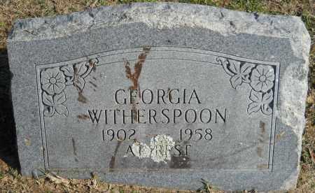 WITHERSPOON, GEORGIA - Hempstead County, Arkansas   GEORGIA WITHERSPOON - Arkansas Gravestone Photos