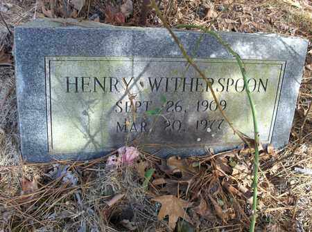 WITHERSPOON, HENRY - Hempstead County, Arkansas | HENRY WITHERSPOON - Arkansas Gravestone Photos