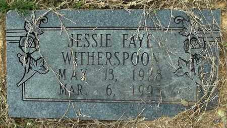 WITHERSPOON, JESSIE FAYE - Hempstead County, Arkansas | JESSIE FAYE WITHERSPOON - Arkansas Gravestone Photos
