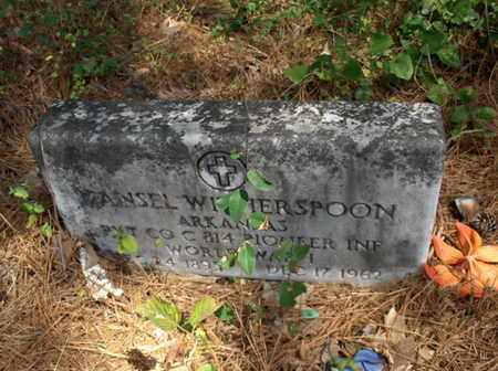 WITHERSPOON (VETERAN WWI), MANSEL - Hempstead County, Arkansas | MANSEL WITHERSPOON (VETERAN WWI) - Arkansas Gravestone Photos