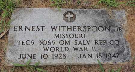 WITHERSPOON, JR (VETERAN WWII), ERNEST - Hempstead County, Arkansas   ERNEST WITHERSPOON, JR (VETERAN WWII) - Arkansas Gravestone Photos