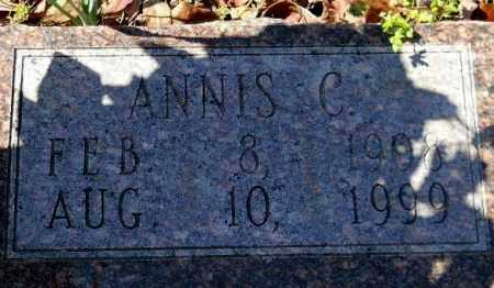 WORTHEY, ANNIS C (CLOSEUP) - Hempstead County, Arkansas | ANNIS C (CLOSEUP) WORTHEY - Arkansas Gravestone Photos