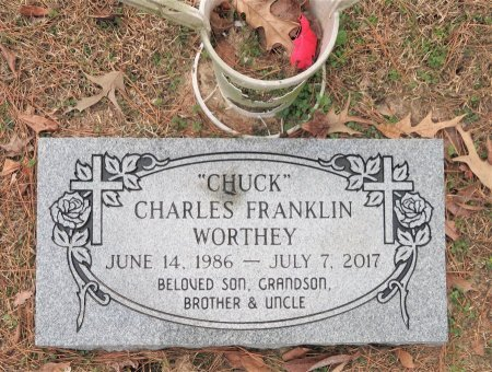 WORTHEY, CHARLES FRANKLIN - Hempstead County, Arkansas | CHARLES FRANKLIN WORTHEY - Arkansas Gravestone Photos