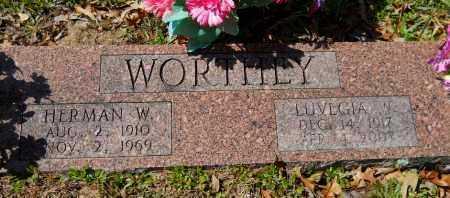 WORTHEY, LUVEGIA - Hempstead County, Arkansas | LUVEGIA WORTHEY - Arkansas Gravestone Photos