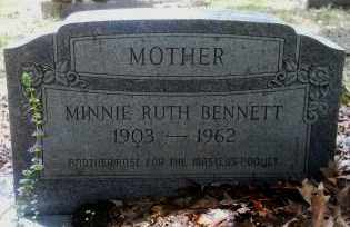 STEWART BENNETT, MINNIE RUTH - Hempstead County, Arkansas | MINNIE RUTH STEWART BENNETT - Arkansas Gravestone Photos
