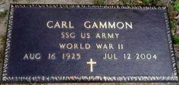 GAMMON (VETERAN WWII), CARL - Hempstead County, Arkansas | CARL GAMMON (VETERAN WWII) - Arkansas Gravestone Photos