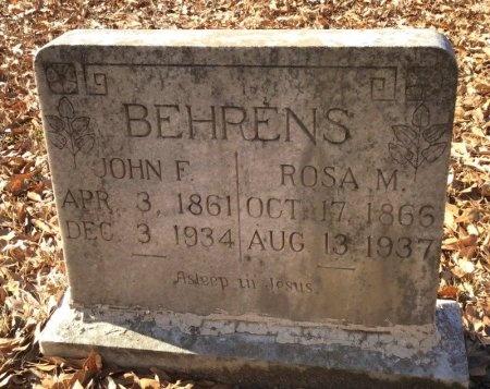 BEHRENS, JOHN F. - Hot Spring County, Arkansas   JOHN F. BEHRENS - Arkansas Gravestone Photos