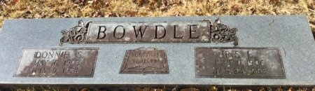BOWDLE, DONNIE S. - Hot Spring County, Arkansas | DONNIE S. BOWDLE - Arkansas Gravestone Photos