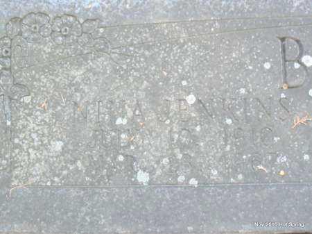 BURRIS, NENA (CLOSE UP) - Hot Spring County, Arkansas | NENA (CLOSE UP) BURRIS - Arkansas Gravestone Photos