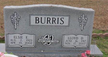 BURRIS, LLOYD D. - Hot Spring County, Arkansas | LLOYD D. BURRIS - Arkansas Gravestone Photos