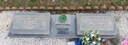 BURRIS, GEORGE FAIRINGTON - Hot Spring County, Arkansas | GEORGE FAIRINGTON BURRIS - Arkansas Gravestone Photos