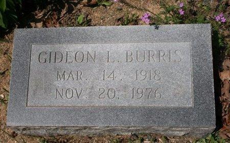 BURRIS, GIDEON L - Hot Spring County, Arkansas | GIDEON L BURRIS - Arkansas Gravestone Photos
