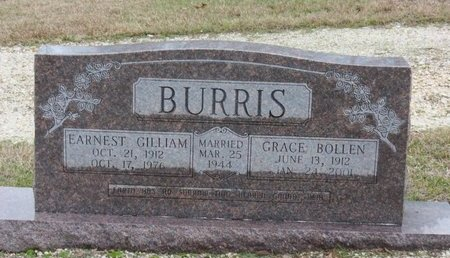 BURRIS, GRACE - Hot Spring County, Arkansas   GRACE BURRIS - Arkansas Gravestone Photos