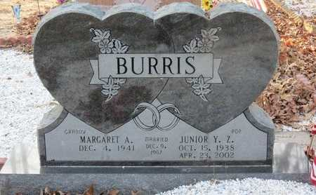 BURRIS, JUNIOR Y Z - Hot Spring County, Arkansas | JUNIOR Y Z BURRIS - Arkansas Gravestone Photos