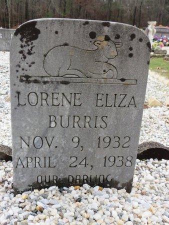 BURRIS, LORENE ELIZA - Hot Spring County, Arkansas   LORENE ELIZA BURRIS - Arkansas Gravestone Photos
