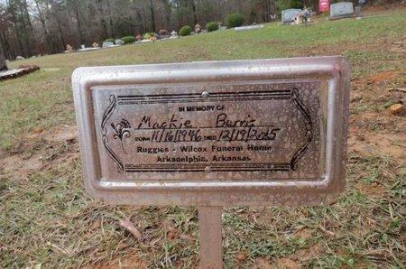 BURRIS, MACKIE - Hot Spring County, Arkansas   MACKIE BURRIS - Arkansas Gravestone Photos