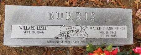 BURRIS, MACKIE DIANN - Hot Spring County, Arkansas   MACKIE DIANN BURRIS - Arkansas Gravestone Photos