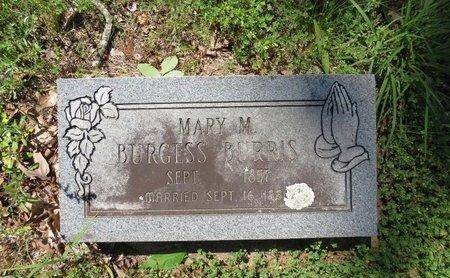 BURRIS, MARY M - Hot Spring County, Arkansas | MARY M BURRIS - Arkansas Gravestone Photos