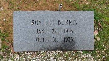BURRIS, ROY LEE - Hot Spring County, Arkansas   ROY LEE BURRIS - Arkansas Gravestone Photos