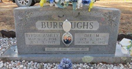 BURROUGHS, BYRDIA - Hot Spring County, Arkansas | BYRDIA BURROUGHS - Arkansas Gravestone Photos