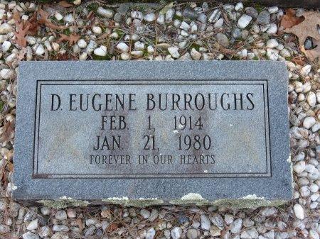 BURROUGHS, D. EUGENE - Hot Spring County, Arkansas | D. EUGENE BURROUGHS - Arkansas Gravestone Photos