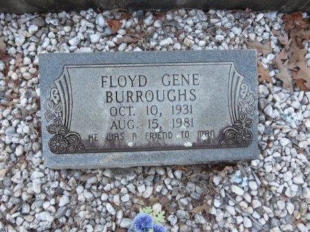 BURROUGHS, FLOYD GENE - Hot Spring County, Arkansas | FLOYD GENE BURROUGHS - Arkansas Gravestone Photos