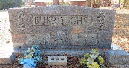 BURROUGHS, HELEN M. - Hot Spring County, Arkansas | HELEN M. BURROUGHS - Arkansas Gravestone Photos