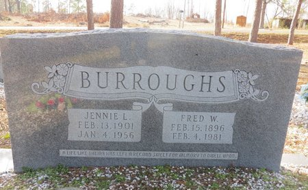 BURROUGHS, FRED W. - Hot Spring County, Arkansas | FRED W. BURROUGHS - Arkansas Gravestone Photos