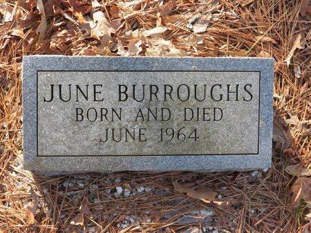 BURROUGHS, JUNE - Hot Spring County, Arkansas   JUNE BURROUGHS - Arkansas Gravestone Photos
