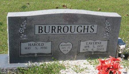 BURROUGHS, LAVERNE - Hot Spring County, Arkansas   LAVERNE BURROUGHS - Arkansas Gravestone Photos