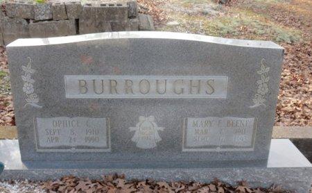BURROUGHS, MARY F - Hot Spring County, Arkansas   MARY F BURROUGHS - Arkansas Gravestone Photos