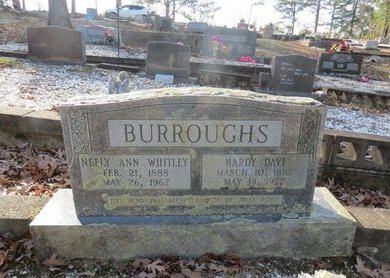 BURROUGHS, HARDY DAVE - Hot Spring County, Arkansas   HARDY DAVE BURROUGHS - Arkansas Gravestone Photos