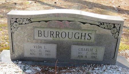 BURROUGHS, VIDA L. - Hot Spring County, Arkansas | VIDA L. BURROUGHS - Arkansas Gravestone Photos