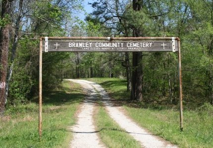 *CEMETERY ENTRANCE AND SIGN, . - Hot Spring County, Arkansas | . *CEMETERY ENTRANCE AND SIGN - Arkansas Gravestone Photos