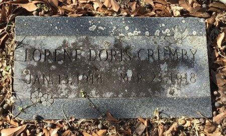 CRUMBY, LORENE DORIS - Hot Spring County, Arkansas | LORENE DORIS CRUMBY - Arkansas Gravestone Photos