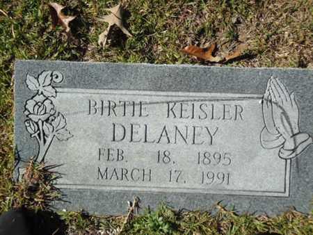 KEISLER DELANEY, BIRTIE - Hot Spring County, Arkansas | BIRTIE KEISLER DELANEY - Arkansas Gravestone Photos