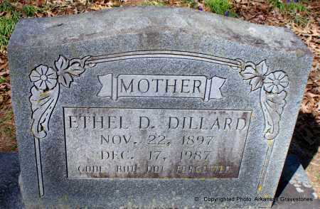 DILLARD, ETHEL DELL - Hot Spring County, Arkansas | ETHEL DELL DILLARD - Arkansas Gravestone Photos
