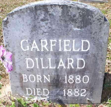 DILLARD, GARFIELD - Hot Spring County, Arkansas | GARFIELD DILLARD - Arkansas Gravestone Photos