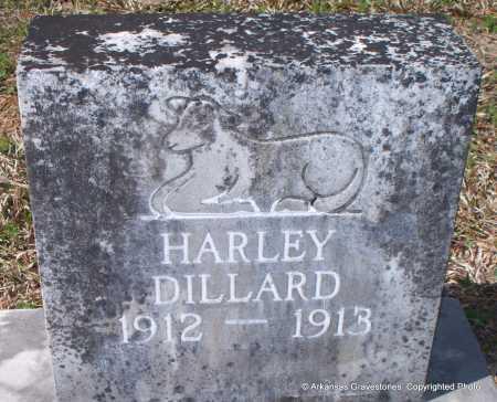 DILLARD, HARLEY - Hot Spring County, Arkansas | HARLEY DILLARD - Arkansas Gravestone Photos