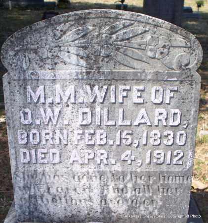 DILLARD, MARGARET MELISSA - Hot Spring County, Arkansas | MARGARET MELISSA DILLARD - Arkansas Gravestone Photos