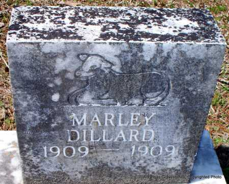 DILLARD, MARLEY - Hot Spring County, Arkansas | MARLEY DILLARD - Arkansas Gravestone Photos