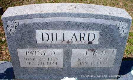 LAMBERT DILLARD, PATSY D - Hot Spring County, Arkansas | PATSY D LAMBERT DILLARD - Arkansas Gravestone Photos