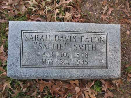 "SMITH, SARAH ""SALLIE"" - Hot Spring County, Arkansas   SARAH ""SALLIE"" SMITH - Arkansas Gravestone Photos"