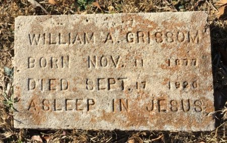GRISSOM, WILLIAM A. - Hot Spring County, Arkansas   WILLIAM A. GRISSOM - Arkansas Gravestone Photos