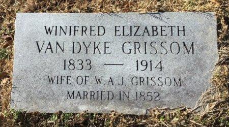 VAN DYKE GRISSOM, WINIFRED ELIZABETH - Hot Spring County, Arkansas | WINIFRED ELIZABETH VAN DYKE GRISSOM - Arkansas Gravestone Photos